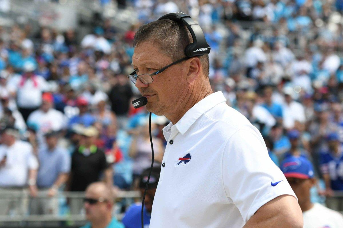 Bills fire Offensive Coordinator