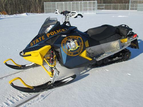 New York State Police, snowmobile