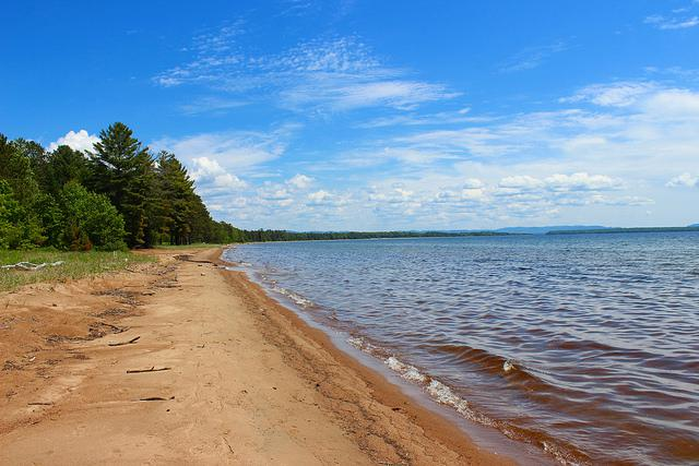 Batchawana Bay on Lake Superior.