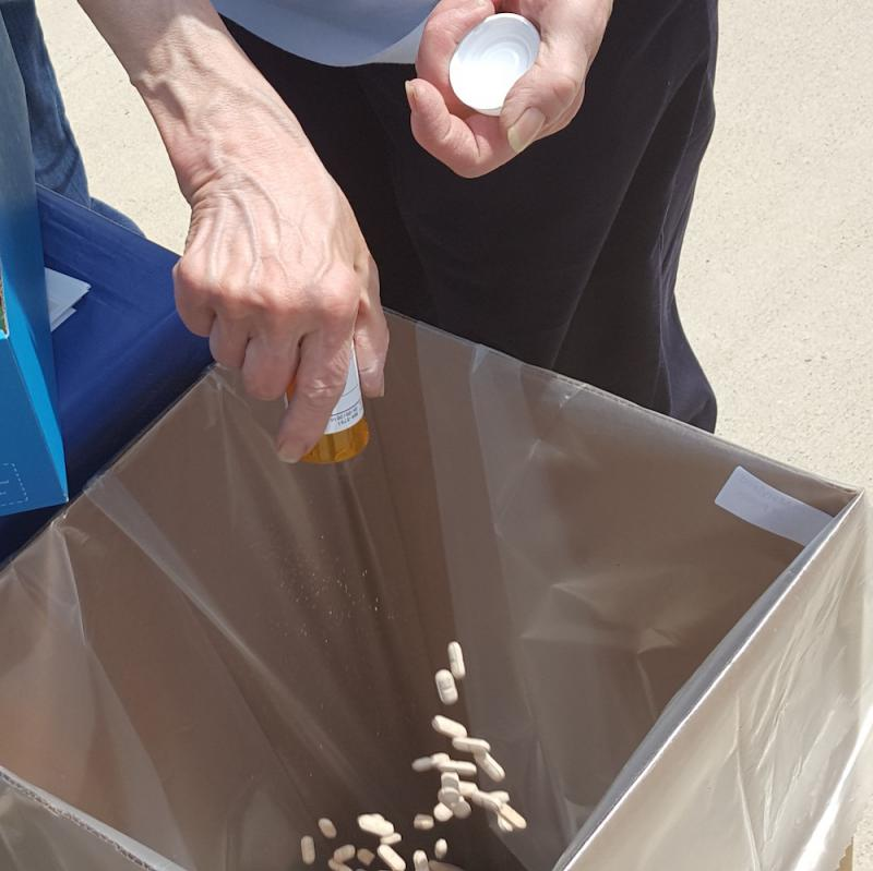 Drug Enforcement Administration promotes the proper disposal of unused drugs.