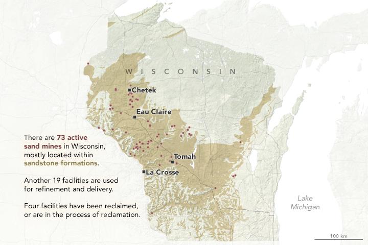 Wisconsin sand mines