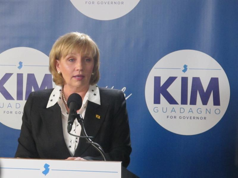 Lt. Governor Kim Guadagno announces her candidacy in Keansburg