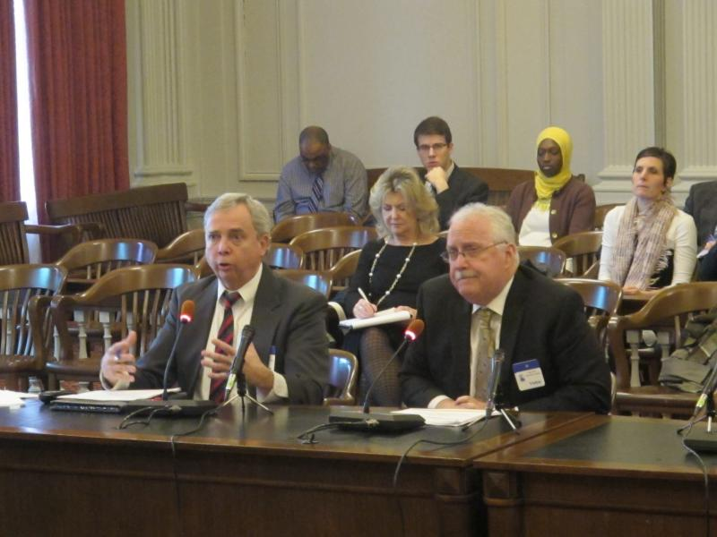 Department of Education officials testify at legislative task force hearing