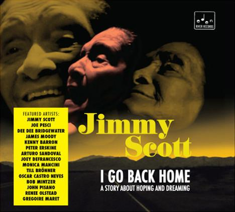 Album cover for Jimmy Scott, I Go Back Home