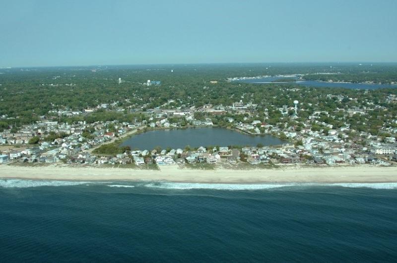Jersey Shore coastline