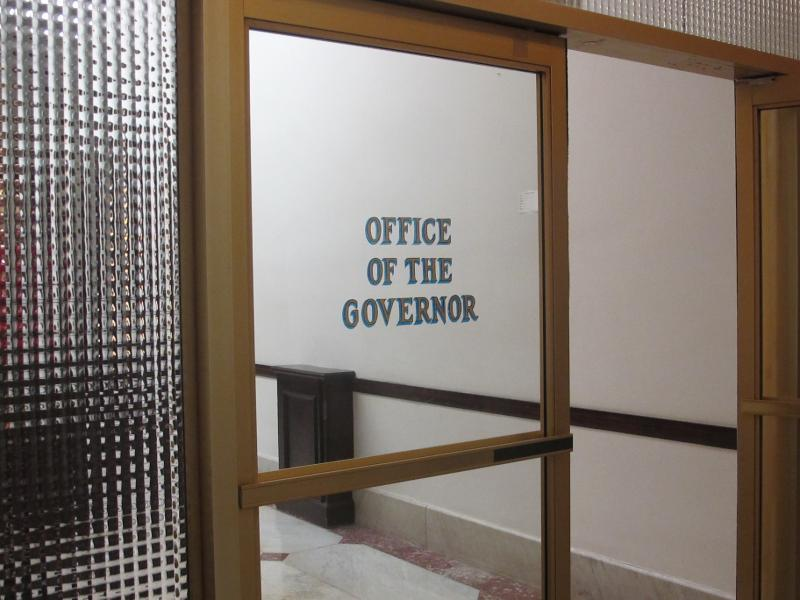 Governor's office entrance