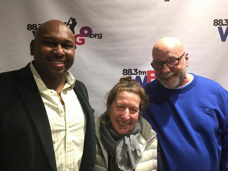 Abraham Burton, Maxine Gordon and WBGO Host Gary Walker