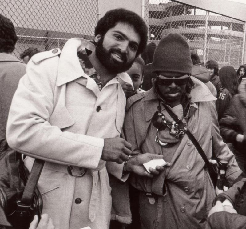 Franco Harris and Rahsaan Roland Kirk