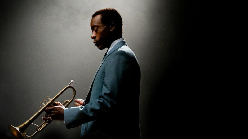 Don Cheadle stars as Miles Davis in the film Miles Ahead.