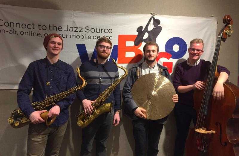 The Blake Opper New School Jazz Quartet