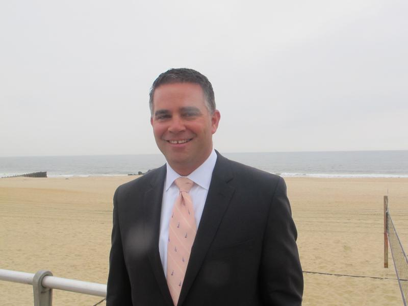 Belmar Mayor Matt Doherty