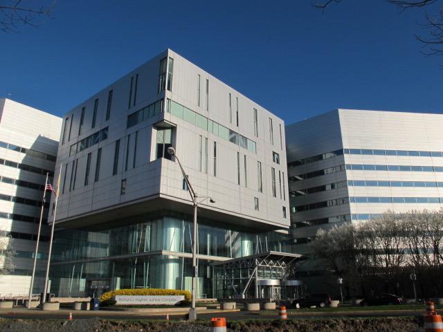 Hughes Justice Complex in Trenton