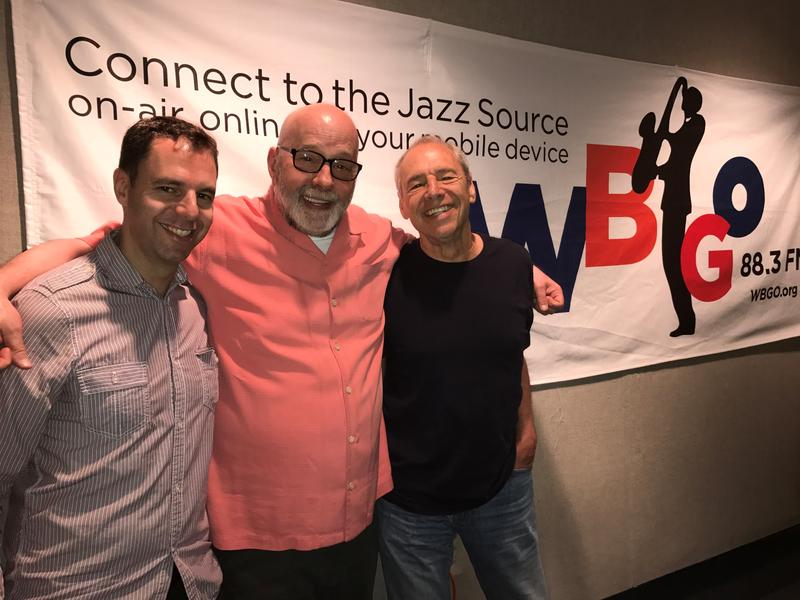 Leo Sidran, Gary Walker and Ben Sidran together for Morning Jazz