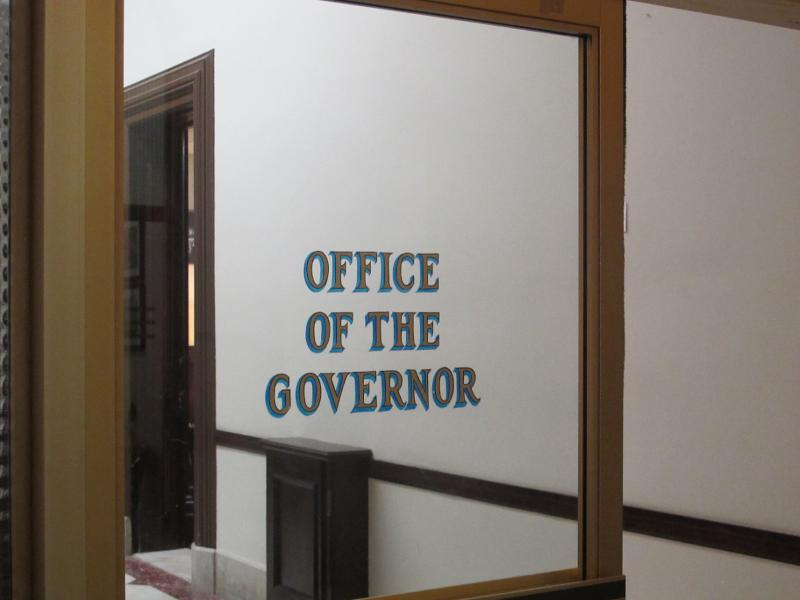 entry door at NJ Governor's office