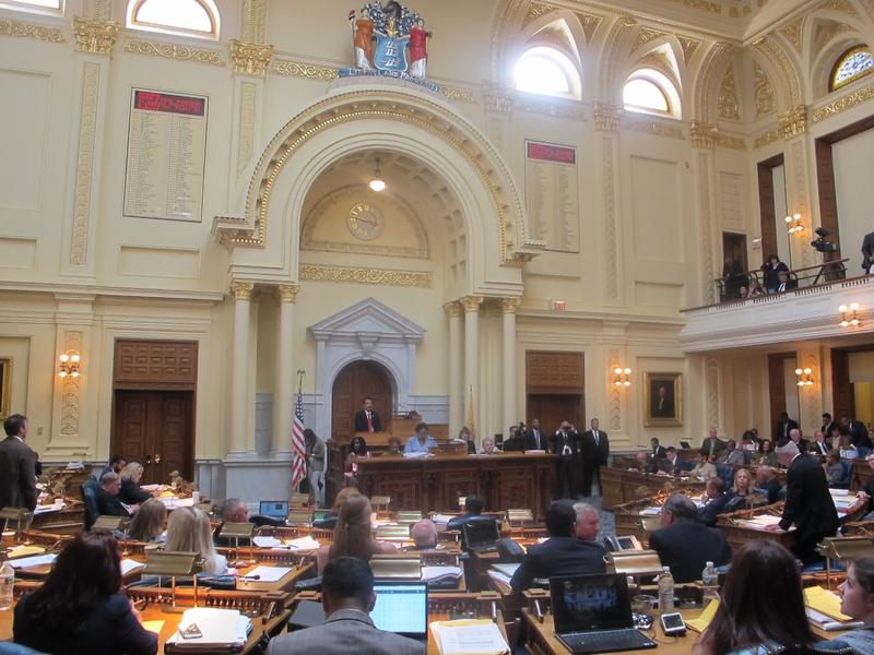 New Jersey Assembly failed to pass the budget bill.