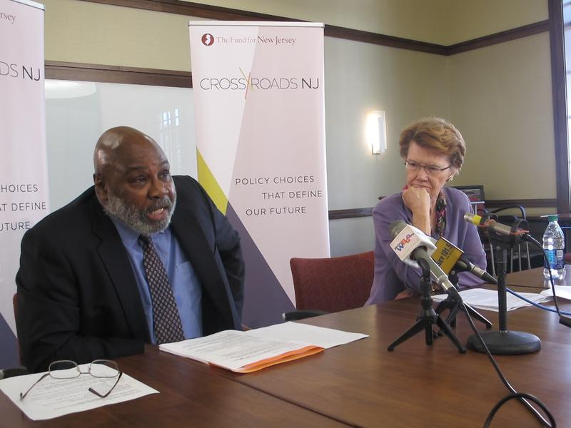 Henry Coleman and Feather Houstoun discuss the Fund for New Jersey's recommendations.