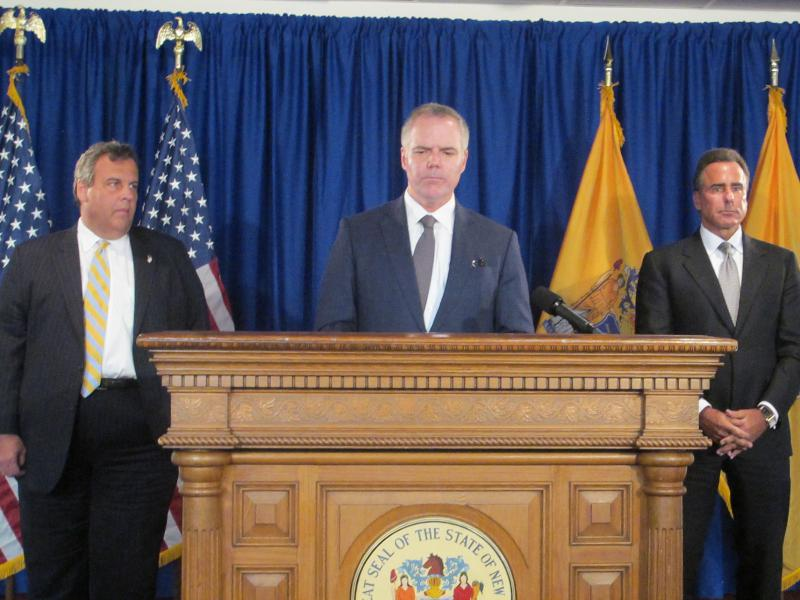 Governor Christie, Jim Murren, and Mark Frissora say they had a productive meeting.