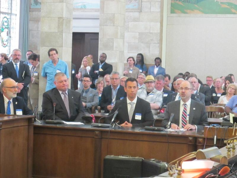 Legalization supporters testify at Senate Judiciary Committee hearing