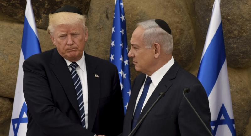 Trump in Israel