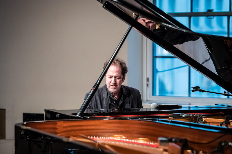 Michael Wolff at the WBGO Yamaha Piano Salon, June 15, 2017.