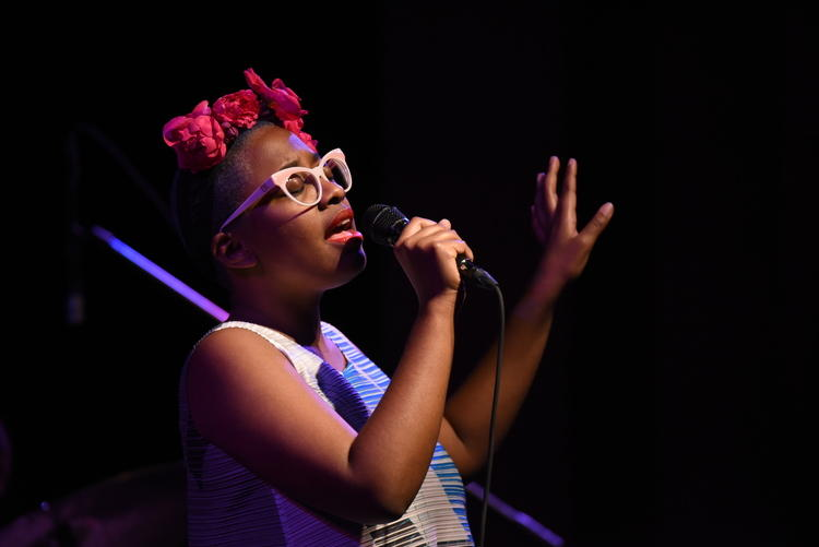 Cecile McLorin Salvant at South Florida Jazz in 2015