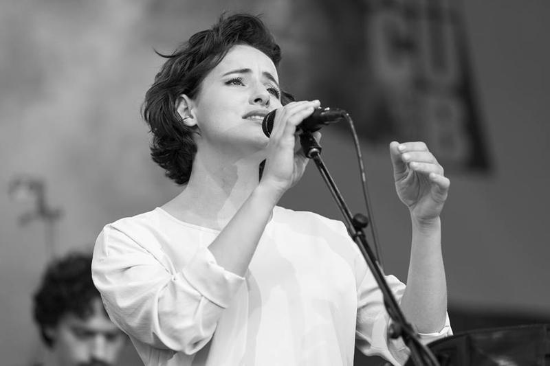 A-C Leonte at the Bucharest Jazz Fest