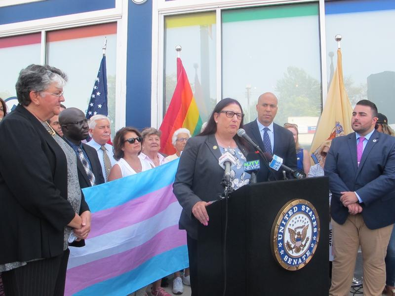 LGBT advocates oppose the ban.