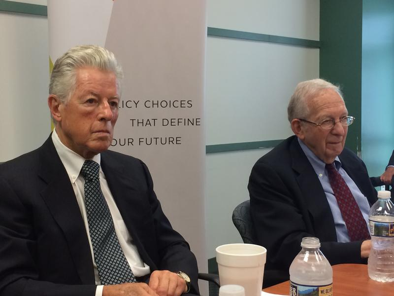Jim Florio and Martin Robins say transportation must be a priority.