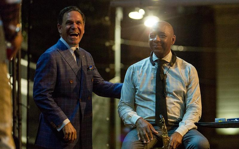 Kurt Elling and Branford Marsalis at the Bucharest Jazz Festival
