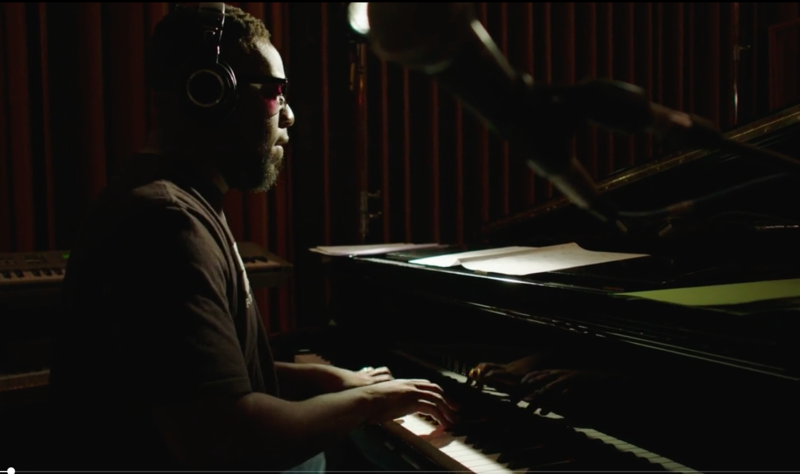 Robert Glasper during the sessions for 'Our Point of View'