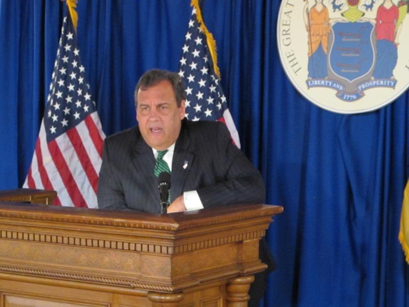 Governor Chris Christie hopes his efforts will help save lives.