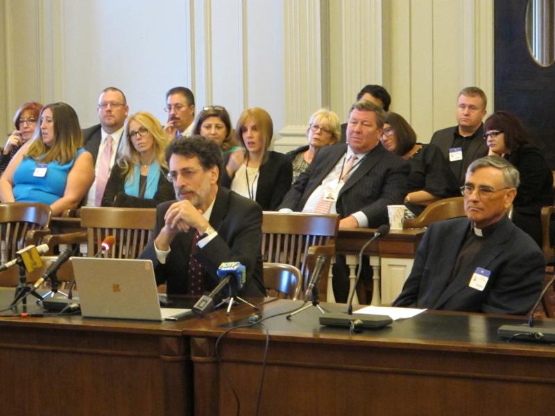Princeton computer science professor Andrew Appel testifies at Assembly Judiciary Committee hearing