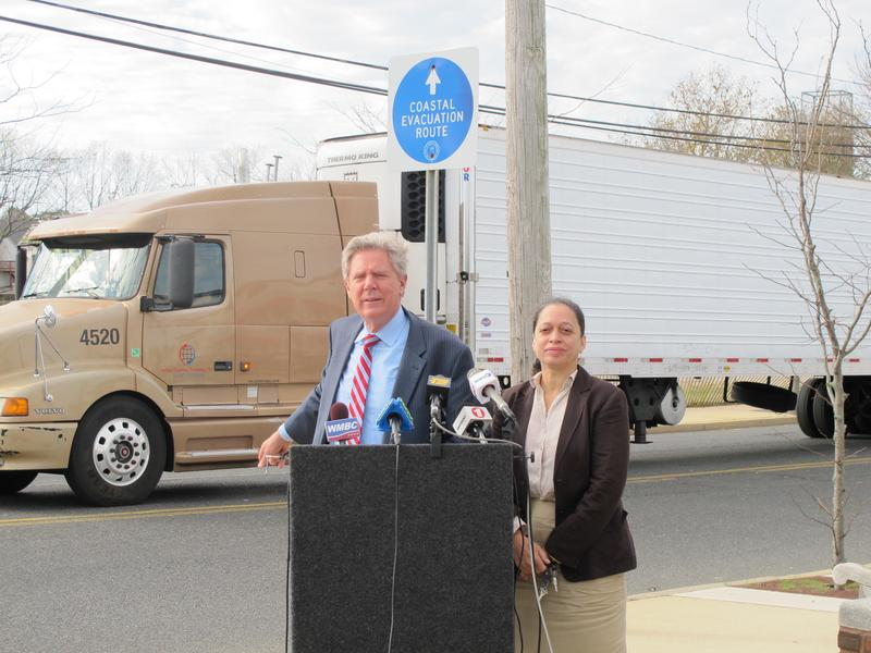 Congressman Frank Pallone and Beverly Brown Ruggia