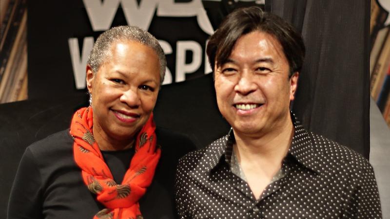 Rhonda Hamilton with Makoto Ozone