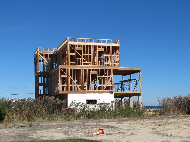 Partialy rebuilt home