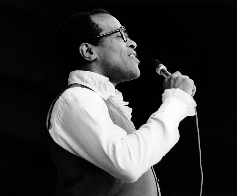 Jon Hendricks at the 1972 Monterey Jazz Festival