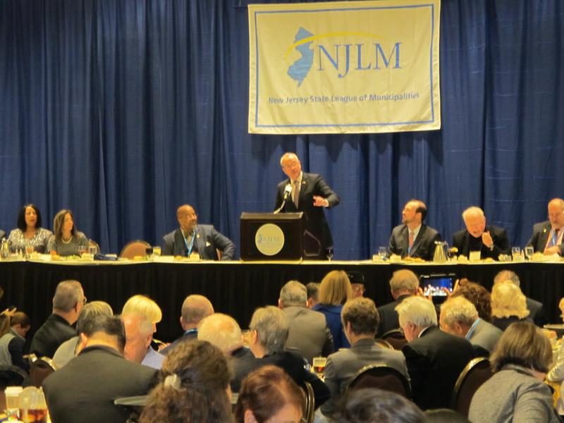 Governor-elect Murphy speaks at League conference