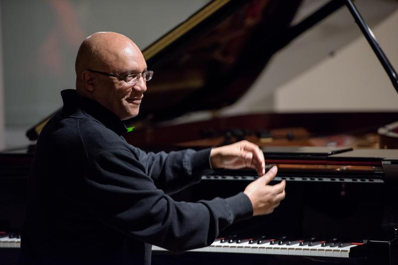 Billy Childs, at a WBGO / Yamaha Salon Concert