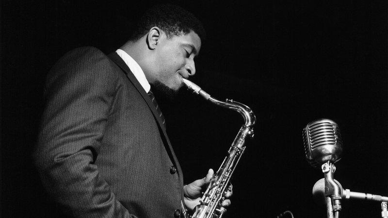 Sonny Rollins during the recording of A Night at the Village Vanguard.