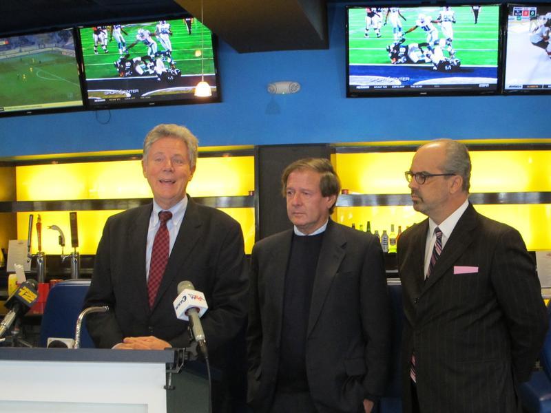Congressman Frank Pallone working on legislation to permit sports betting.