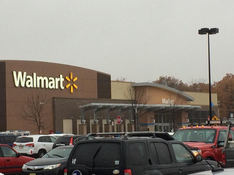 cars at Walmart store