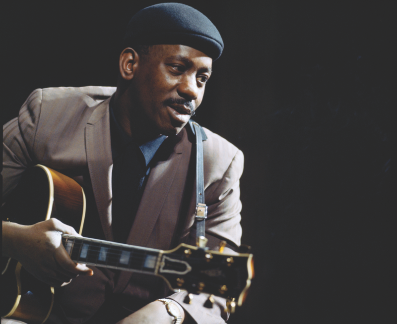 Wes Montgomery at the Theatre des Champs-Elysees in Paris, France on March 27, 1965
