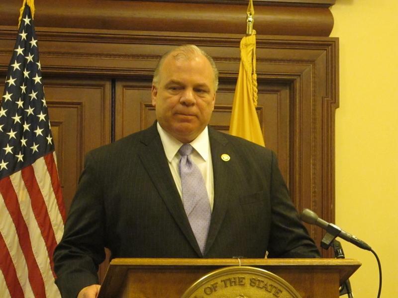 Senate President Steve Sweeney
