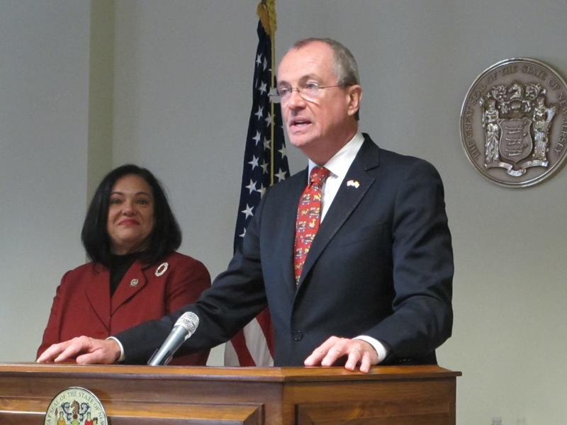 Murphy says he'll ask Caride to help him establish a public bank in New Jersey
