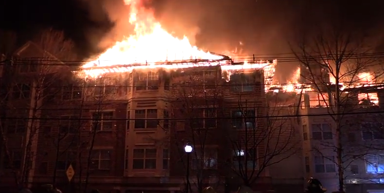 January 2015 fire at Edgewater apartment building.