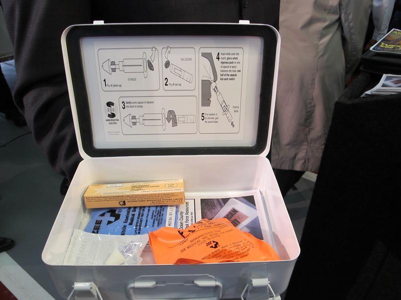 Naloxone treatment kit