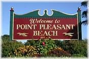Point Pleasant Beach sign
