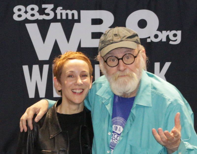 Stacey Kent with WBGO's Michael Bourne on Singers Unlimited