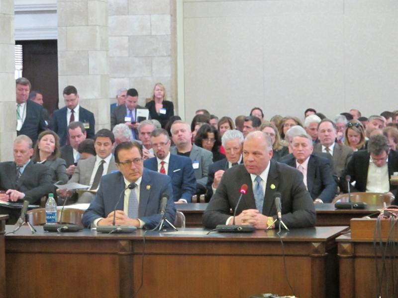 Senate President Steve Sweeney voiced support for the measure at a legislative hearing