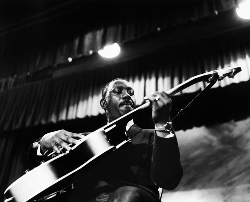 Wes Montgomery performing at the Theater des Champs-Elysees in Paris, France on  in Paris, France on March 27, 1965